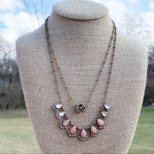 C+I Sunset Vista Two-Row Convertible Necklace